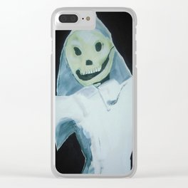 Halloween Ghost Punch And Judy English Puppet Fine Art Clear iPhone Case