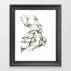 Whimsical Braids Framed Art Print