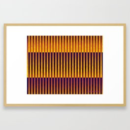 Follow the Lines Framed Art Print
