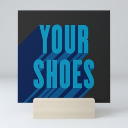 Kick Off Your Shoes 2 Mini Art Print