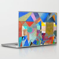 actor Laptop & iPad Skins featuring Harlequin by Fernando Vieira