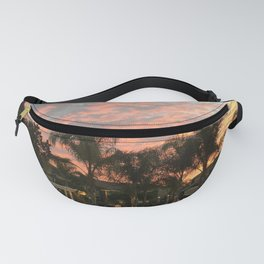 Sunset Poolside Fanny Pack