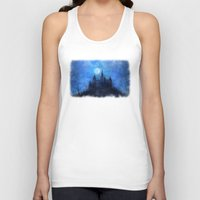 castle in the sky Tank Tops featuring Mystical castle by Pirmin Nohr