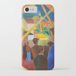 """August Macke """"Seiltänzer (Tightrope walker)"""" iPhone Case"""
