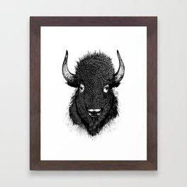 American Buffalo Framed Art Print