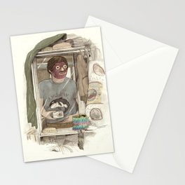 Pallas's selfie Stationery Cards