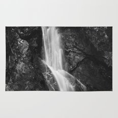 Waterfall in Hell Gorge, Slovenia Rug
