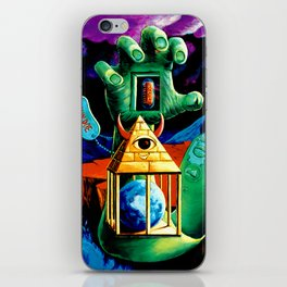 The Practical Deception by Vincent Monaco iPhone Skin
