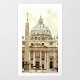 Rome Flea Market Art Print