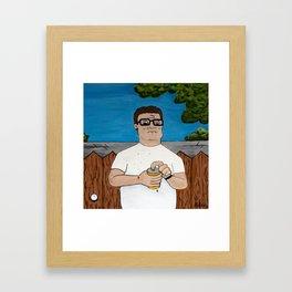 Keep 'Em Comin'  Framed Art Print