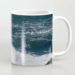 Onomatopoeia - Waves crashing Coffee Mug