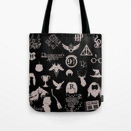 potter's head Tote Bag