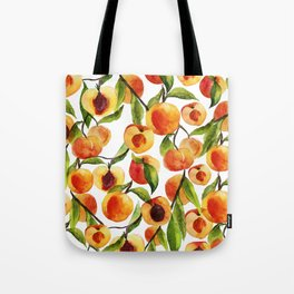 Passionate for peaches Tote Bag