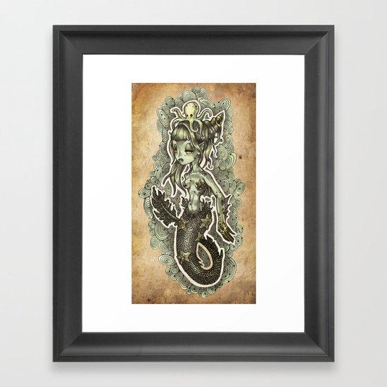MERMS Framed Art Print