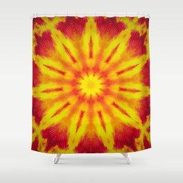 Mandala Fire Shower Curtain