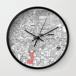 Chittaranjan Park Wall Clock