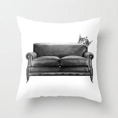 Sofa King Throw Pillow