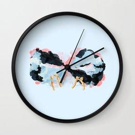 Endless happiness Wall Clock