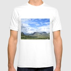 Rondane - Norway MEDIUM White Mens Fitted Tee