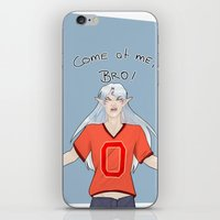 inuyasha iPhone & iPod Skins featuring Come at me, Little Brother.  by Dheerse