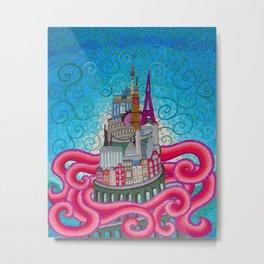 babel tower Metal Print