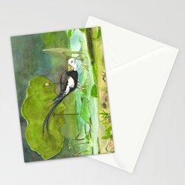 Pheasant-tailed jacana Stationery Cards