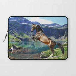 Horse and Lake Laptop Sleeve