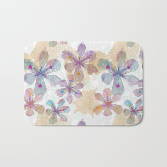 Soft Flower Bath Mat