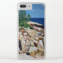 Southwest Harbor, Maine Clear iPhone Case
