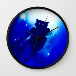 cute cat Wall Clock