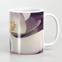 magnolia Mugs featuring Magnolia by Deepti Munshaw