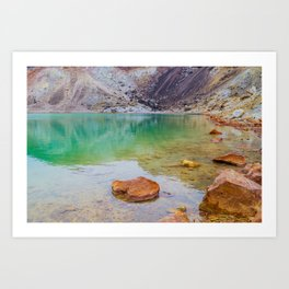 Emerald Lake Art Print