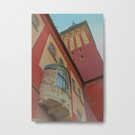 Subotica city hall detail #2 Metal Print