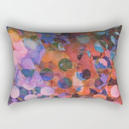 Circles on Triangles Twilight Rectangular Pillow