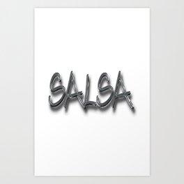 Salsa Gilberto Shadow Art Print