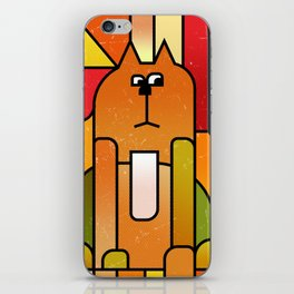 Why is the cat hidden? iPhone Skin