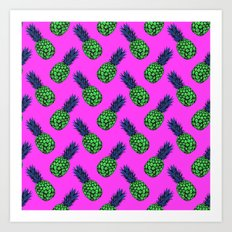 Neo-Pineapple - Poptastic Art Print