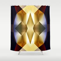 pear Shower Curtains featuring Pear by Cs025
