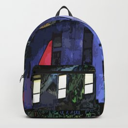 GNOMES IN THE CLOCKTOWER CHILDRENS GRAPHIC ART  Backpack
