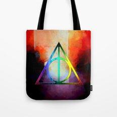 death hallow logo Tote Bag
