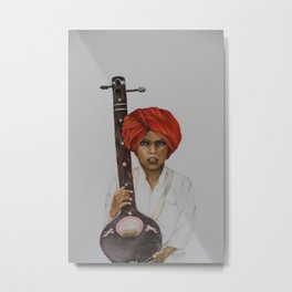 indian boy Metal Print