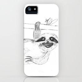 Maya's Sloth iPhone Case