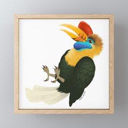 Hornbill Framed Mini Art Print