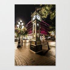 Gastown Steam Clock  Canvas Print