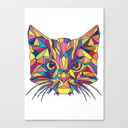 Fragile Kitten Canvas Print