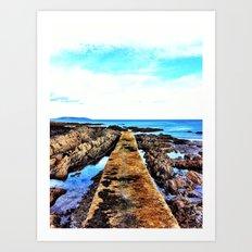 Pier Portmarnock Art Print