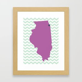 Chicago, Illinois Framed Art Print