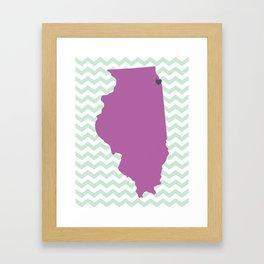 Chicago, Illinois Framed Art Print