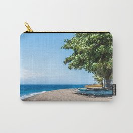 A Bend in the Beach Carry-All Pouch