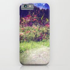 Flowers Plastic Camera Double Exposure iPhone 6s Slim Case